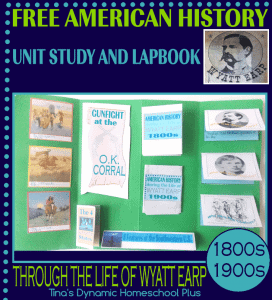 Free-American-History-Lapbook.-History-through-the-Life-of-Wyatt-Earp-@-Tinas-Dynamic-Homeschool-Plus