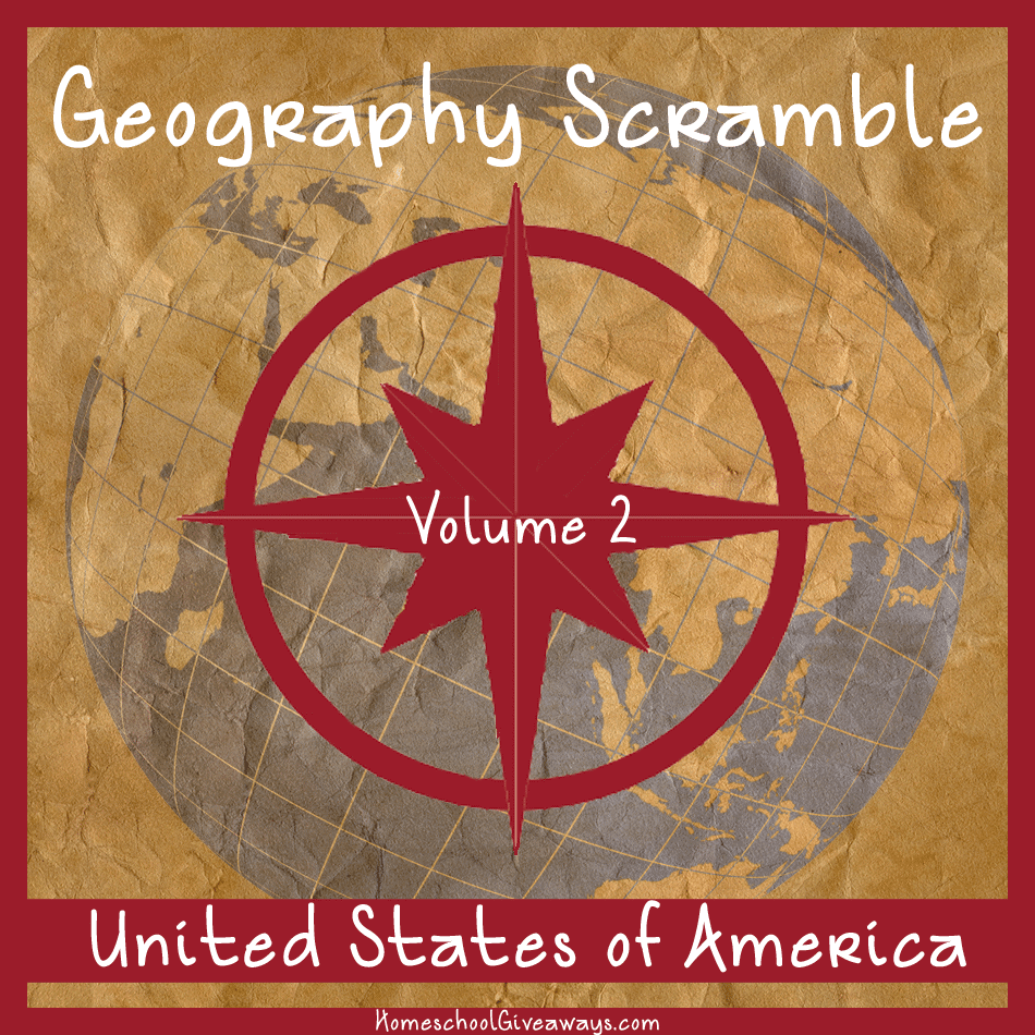 Geography Scramble Vol 2 United States of America