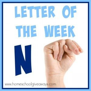 "Over 100 resources for teaching the Letter ""N"" to your preschoolers. From {free} printables to crafts to activities, books and recipes that will make Letter N memorable! :: www.homeschoolgiveaways.com"