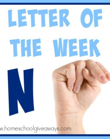 """Over 100 resources for teaching the Letter """"N"""" to your preschoolers. From {free} printables to crafts to activities, books and recipes that will make Letter N memorable! :: www.homeschoolgiveaways.com"""
