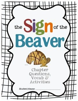 sign of the beaver essay questions The sign of the beaver homework help questions what are some historical events in the sign of the beaver the sign of the beaver takes place in 1769 in maine.