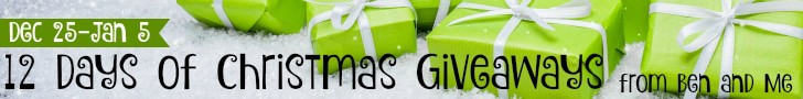 12 Days of Christmas Giveaways 728x90