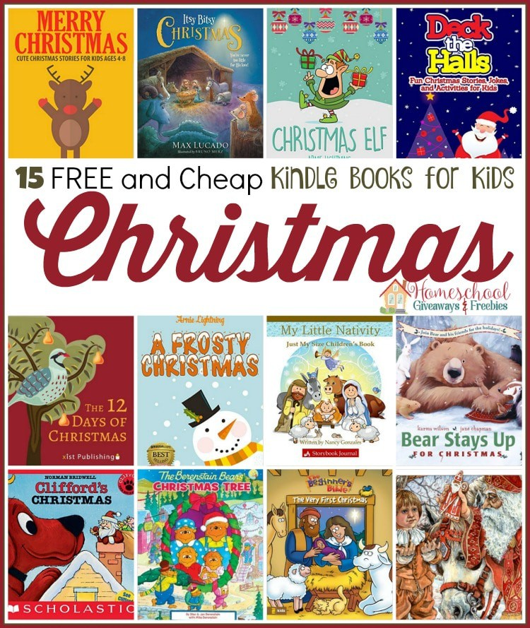 christmas kindle for kids - Best Christmas Books For Kids