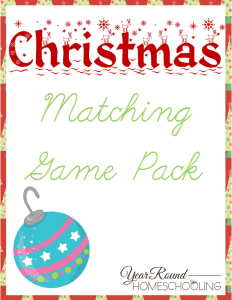 ChristmasMatchingGamePack