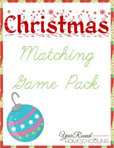 ChristmasMatchingGamePack