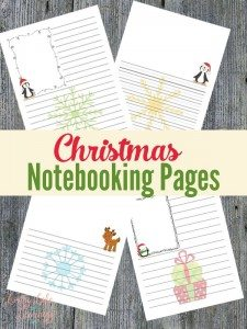 ChristmasNotebooking