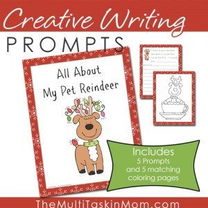 Creative-Writing-Prompts-All-About-My-Pet-Reindeer