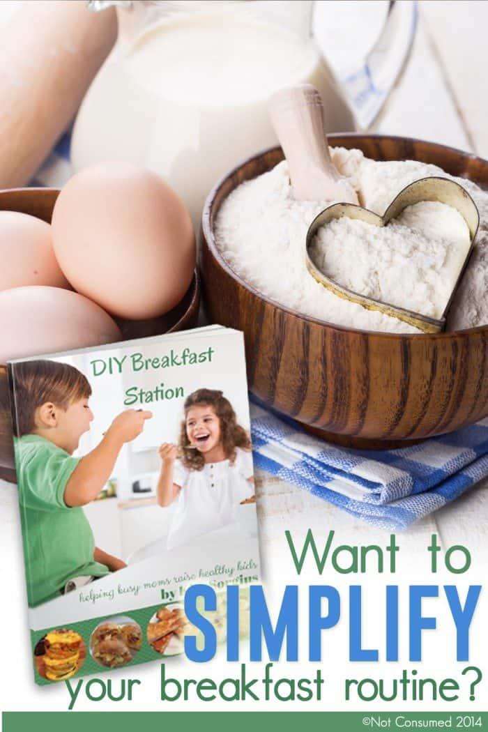 DIY Breakfast station pin