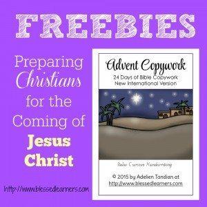 Freebies-Advent-Copywork