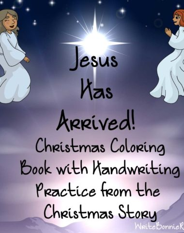 Jesus Has Arrived Christmas Story Coloring Book
