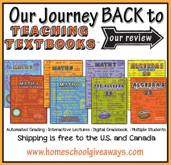 Math Curriculum Options For Homeschoolers Homeschool Giveaways