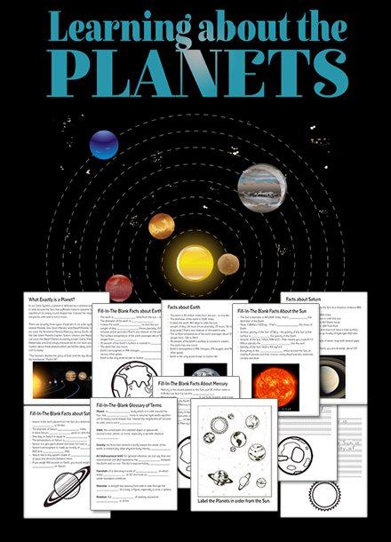 FREE Solar System Unit Study
