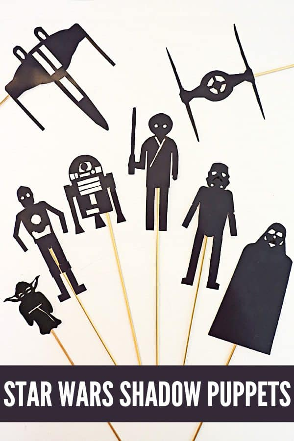 Free star wars shadow puppets for Free shadow puppet templates