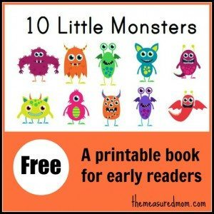 10-Little-Monsters-free-printable-book-for-early-readers-the-measured-mom1