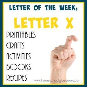 Teaching the Letter X might seem like a scary feat. Check out these resources to make it EASY & FUN!! :: www.homeschoolgiveaways.com