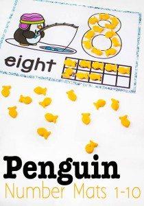 Penguin-number-mats-1-10-pin