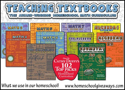 Teaching Textbooks Algebra 1 2.0