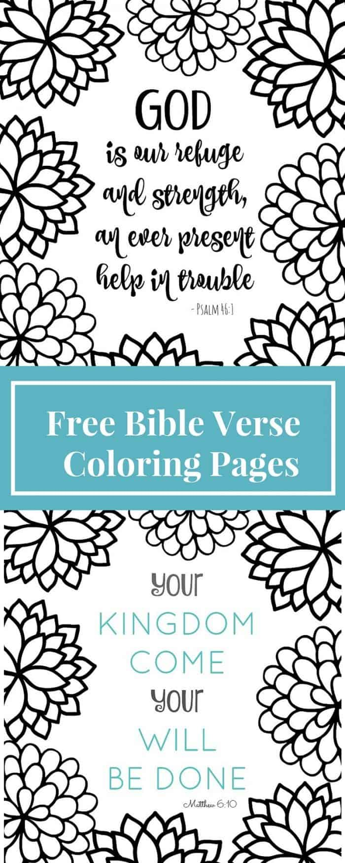 verse - Bible Verse Coloring Pages