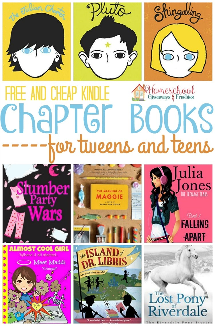 Free And Cheap Kindle Chapter Books For Tweens And Teens -4996