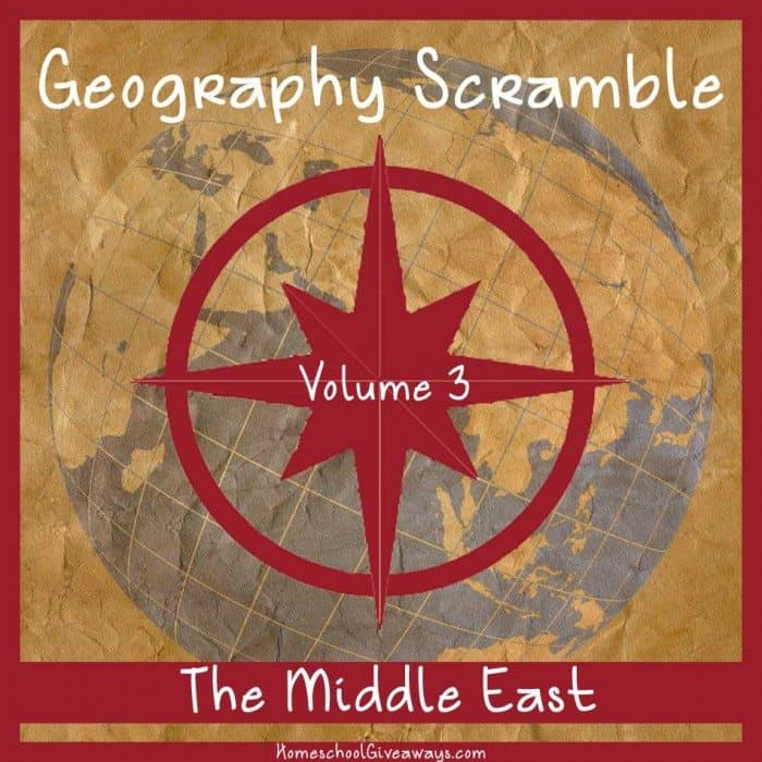 Geography Scramble Vol 3 Middle East