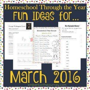 Year Round Homeschool March Submit