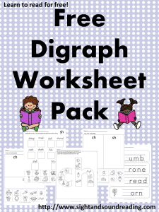 Printables Digraph Worksheets free digraph worksheet packet worksheets title 225x300