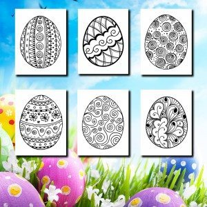 21-Easter-Egg-Coloring-Pages-Beautiful
