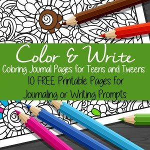 Color and Write facebook
