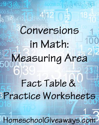 Conversions in Math-Measuring Area