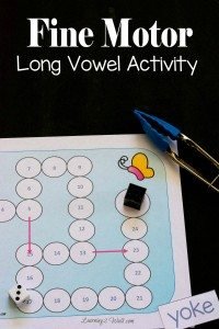 Free-Fine-Motor-Long-Vowel-Activity-Printable