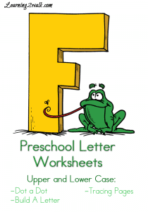 Preschool-Letter-Worksheets-F