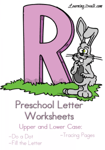 Preschool-Letter-Worksheets-R