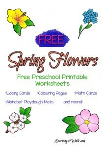 Spring-Flowers-Worksheets