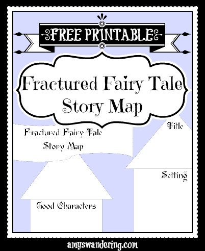 free fractured fairy tale story map homeschool giveaways. Black Bedroom Furniture Sets. Home Design Ideas