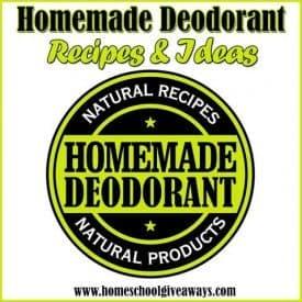 homemadedeodorant