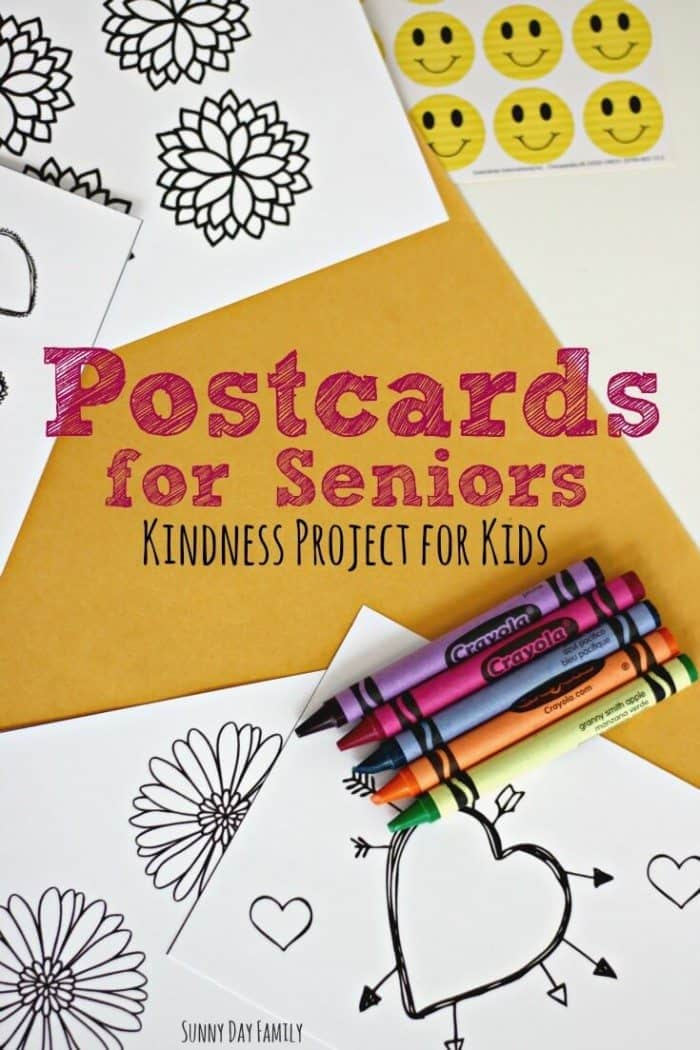 FREE Printable Postcards For Seniors