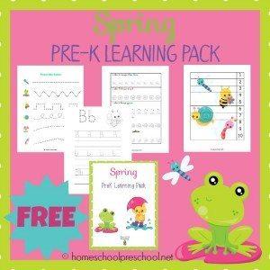 04.09 Spring PreK Pack