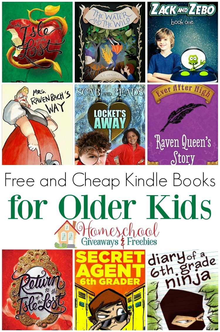 free and cheap kindle books for older kids homeschool giveaways. Black Bedroom Furniture Sets. Home Design Ideas