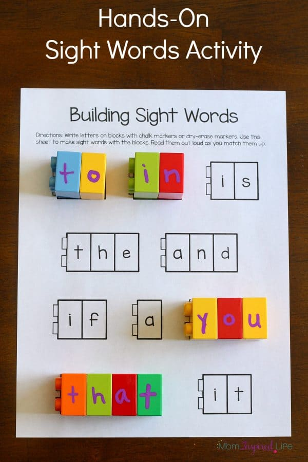 Epic image pertaining to kindergarten sight word games printable