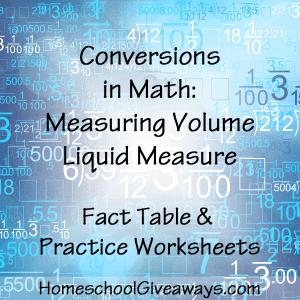Conversions in Math-Measuring Volume Liquid Measure