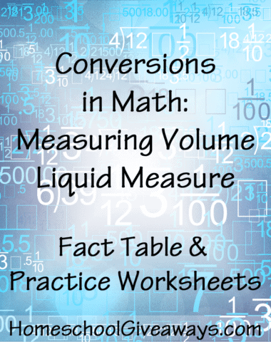 Conversions in Math-Measuring Volume Liquid Measure