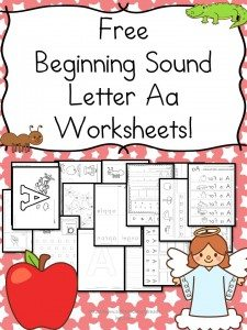 beginning-sound-a-worksheets