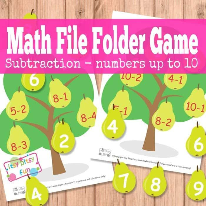 It is a picture of Current Printable File Folder Game