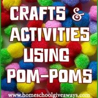 Crafts and Activities Using Pom Poms