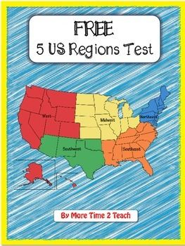 Canny image with regard to 5 regions of the united states printable map