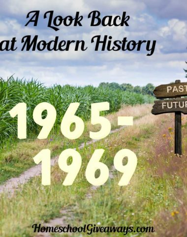 A Look Back at Modern History Unit 1: 1965-1969