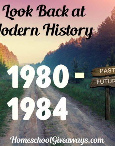 A Look Back at Modern History 1980-1984