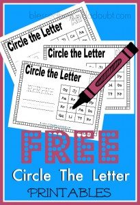 Circle-the-Letter-Printables