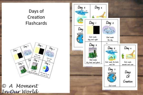 Days-of-Creation-Flashcards