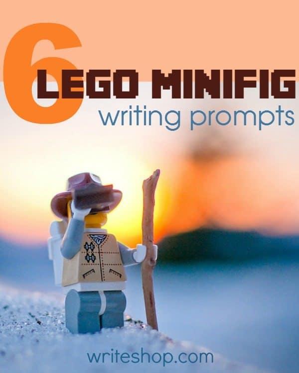 Free Lego Minifig Writing Prompts Homeschool Giveaways